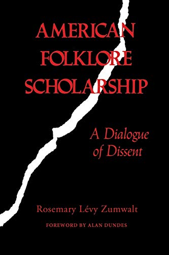9780253204721: American Folklore Scholarship: A Dialogue of Dissent