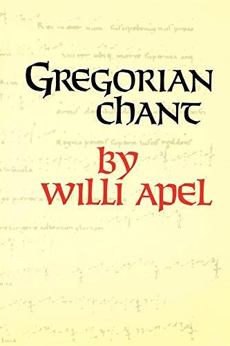 9780253206015: Gregorian Chant