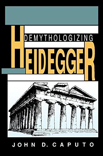 9780253208385: Demythologizing Heidegger (Indiana Series in the Philosophy of Religion)