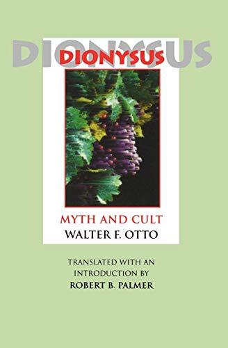 9780253208910: Dionysus: Myth and Cult