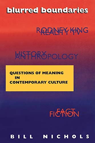 9780253209009: Blurred Boundaries: Questions of Meaning in Contemporary Culture