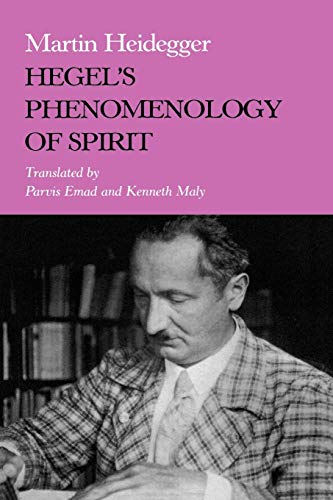 9780253209108: Hegels Phenomenology of Spirit (Studies in Phenomenology and Existential Philosophy)