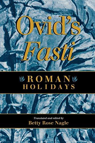 9780253209337: Ovid's Fasti: Roman Holidays