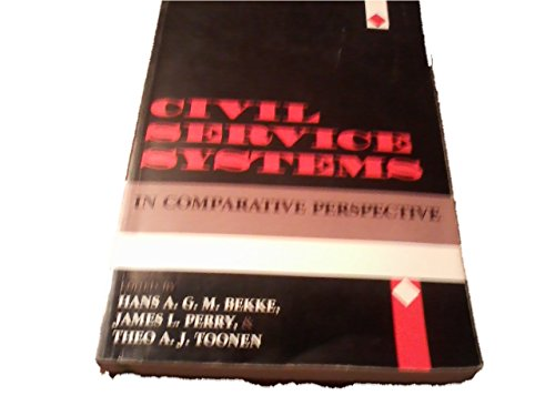 9780253210326: Civil Service Systems in Comparative Perspective (Public Affairs)