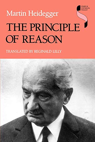 9780253210661: The Principle of Reason (Studies in Continental Thought)