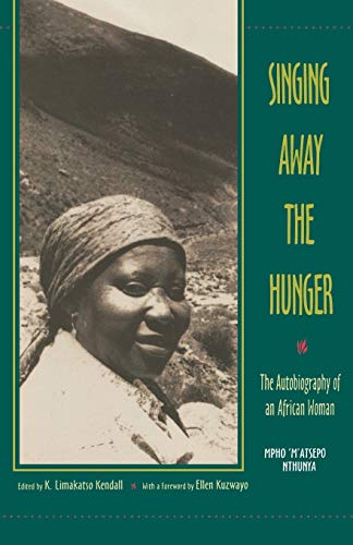9780253211620: Singing Away the Hunger: The Autobiography of an African Woman