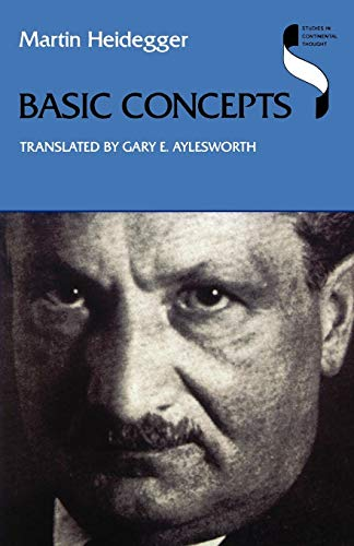9780253212153: Basic Concepts (Studies in Continental Thought)