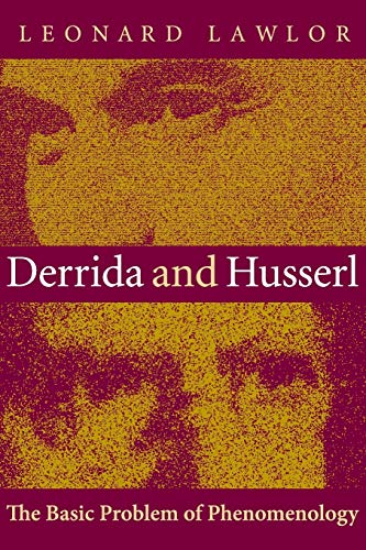 9780253215086: Derrida and Husserl: The Basic Problem of Phenomenology