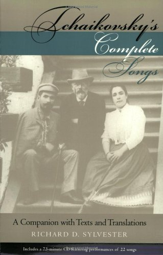 9780253216762: Tchaikovsky's Complete Songs: A Companion with Texts and Translations (Russian Music Studies)