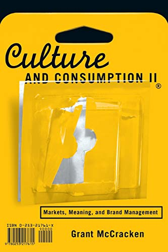 9780253217615: Culture and Consumption II: v. 2: Markets, Meaning, and Brand Management