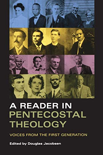 9780253218629: A Reader in Pentecostal Theology: Voices from the First Generation