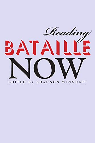 9780253218827: Reading Bataille Now