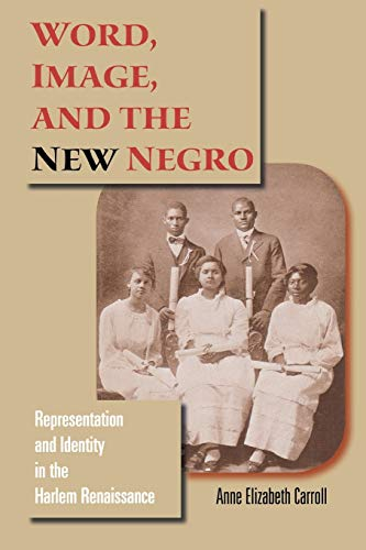 9780253219190: Word, Image, and the New Negro: Representation and Identity in the Harlem Renaissance (Blacks in the Diaspora)