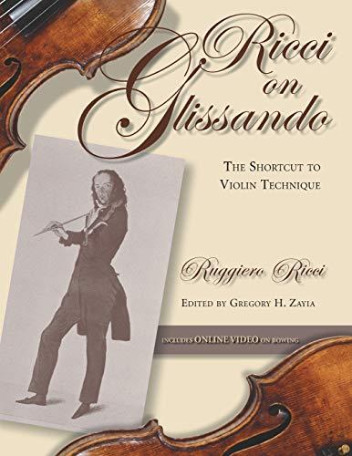 9780253219336: Ricci on Glissando: The Shortcut to Violin Technique