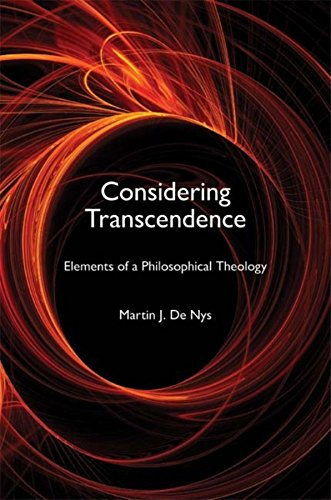 9780253220226: Considering Transcendence: Elements of a Philosophical Theology (Indiana Series in the Philosophy of Religion)