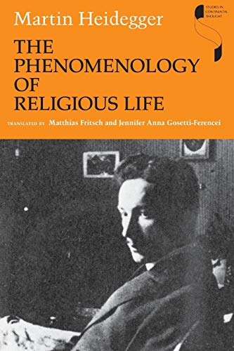 9780253221896: The Phenomenology of Religious Life (Studies in Continental Thought)