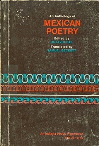 9780253299291: Anthology of Mexican Poetry