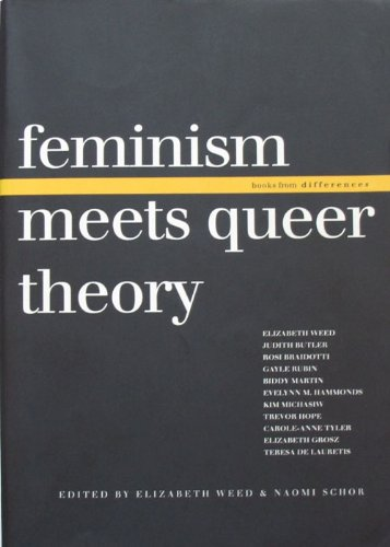 9780253300157: More Gender Trouble: Feminism Meet Queer Theory: 006