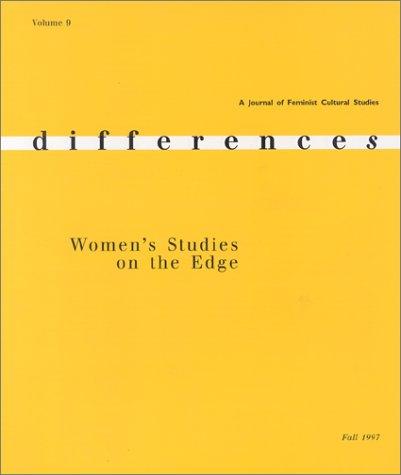9780253300225: Women's Studies on the Edge