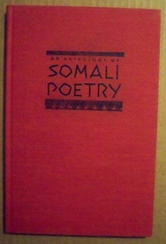 9780253304629: An Anthology of Somali Poetry