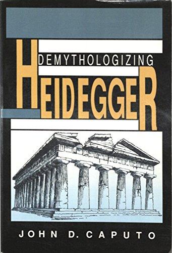 9780253313065: Demythologizing Heidegger (Indiana Series in the Philosophy of Religion)