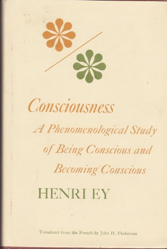9780253314086: Consciousness: A Phenomenological Study of Being Conscious and Becoming Conscious (Studies in phenomenology and existential philosophy)