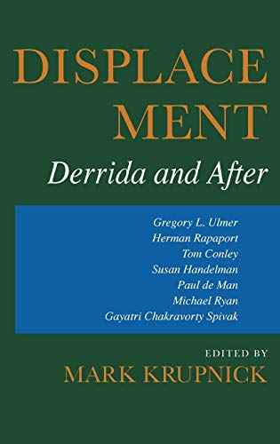 9780253318039: Displacement: Derrida and After (Theories of Contemporary Culture)