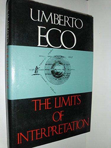 9780253318527: Limits of Interpretation (Advances in Semiotics)