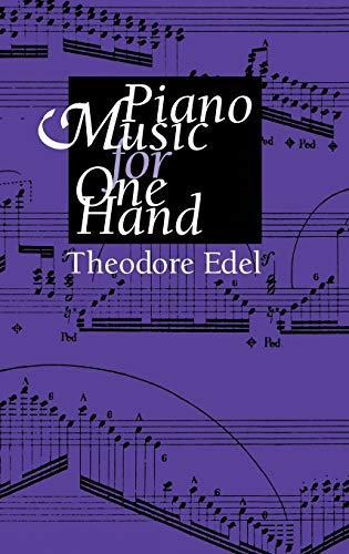 9780253319050: Piano Music for One Hand