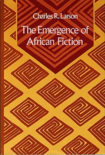 9780253319456: The Emergence of African Fiction