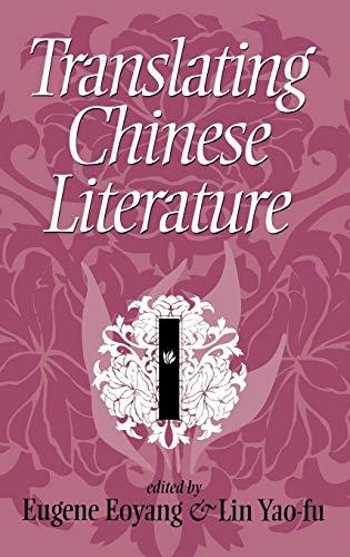 9780253319586: Translating Chinese Literature