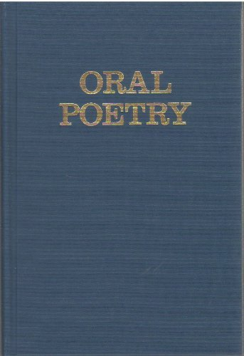 9780253322005: Oral Poetry: Its Nature, Significance and Social Context (A Midland Book)