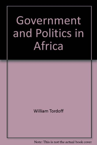 9780253326119: Government and Politics in Africa