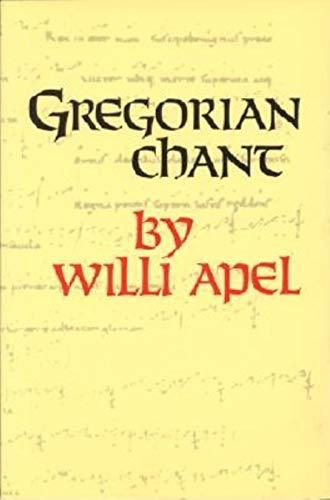 9780253326508: Gregorian Chant (A Midland Book)