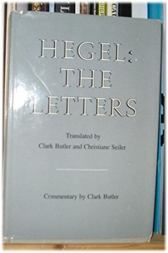 9780253327154: Hegel: The Letters