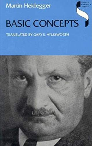 Basic Concepts: Heidegger, M.