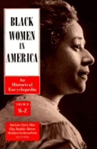 Black Women in America: An Historical Encyclopedia (2 Volume set)