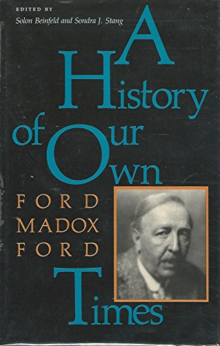 9780253328182: A History of Our Own Times