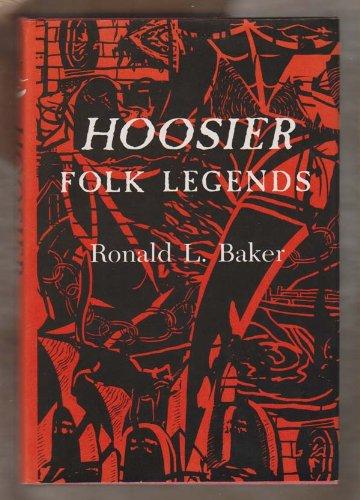 9780253328441: Hoosier Folk Legends (Midland Books)