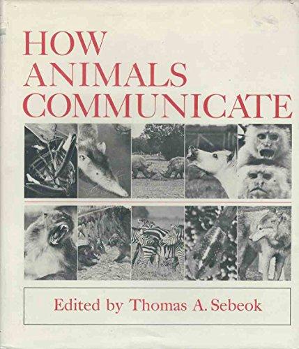 9780253328557: How Animals Communicate