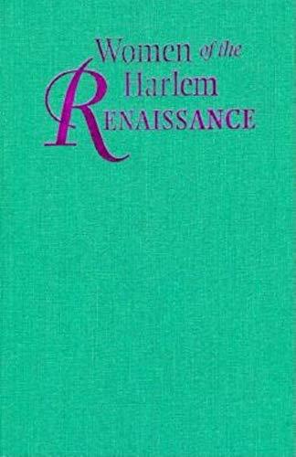 9780253329080: Women of the Harlem Renaissance (Women of Letters)