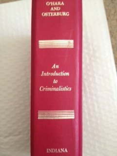 An introduction to criminalistics;: The application of the physical sciences to the detection of ...