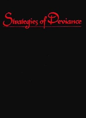 9780253331151: Strategies of Deviance: Studies in Gay Male Representation