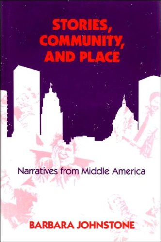 9780253331342: Stories, Community, and Place: Narratives from Middle America