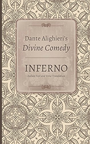 9780253332141: Dante Alighieri's Divine Comedy: Inferno. Text & Commentary(Two Vol. Set) (Volume 1 and 2)