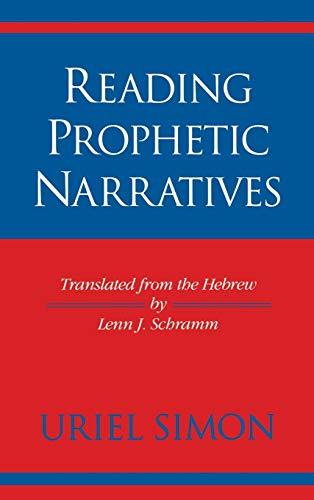 9780253332271: Reading Prophetic Narratives (Indiana Studies in Biblical Literature)