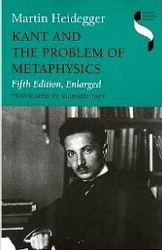 9780253332769: Kant and the Problem of Metaphysics (Studies in Continental Thought)