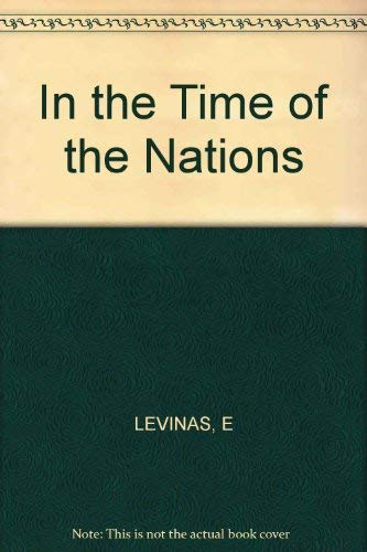 9780253332950: In the Time of the Nations
