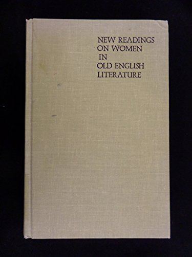 9780253334138: New Readings on Women in Old English Literature (A Midland Book)