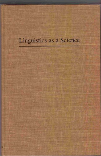 Linguistics as a Science: Yngve, Victor H.